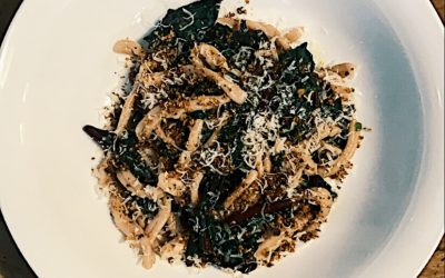 Beet Greens with Pasta